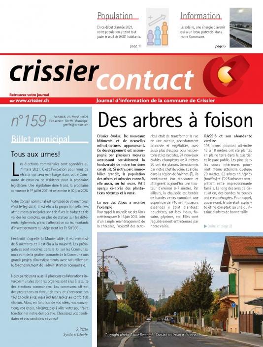Crissier contact 159