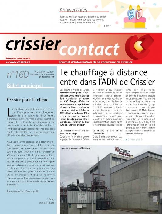 Crissier contact 160